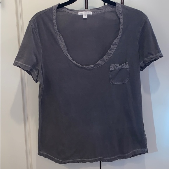 James Perse Women S Relaxed Fit Tee Size 3 L